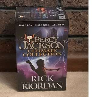 Percy Jackson Ultimate Collection 5 Books by Rick Riordan (NEW!)