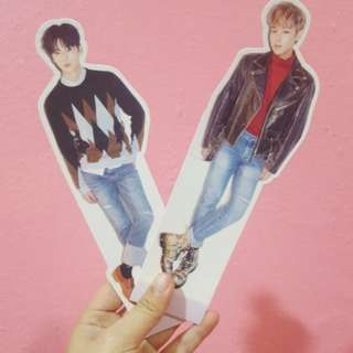 WTS Wanna One Repack Album Minhyun and Jihoon standee