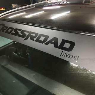Crossroad sunshade
