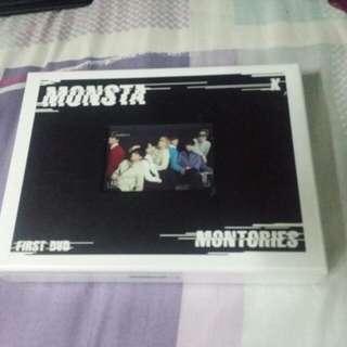 [WTS/Ready stock] MONSTA X MONSTORIES DVD SEALED