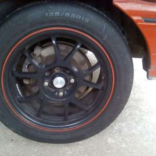 Sportrims Akira 15 With Tyres