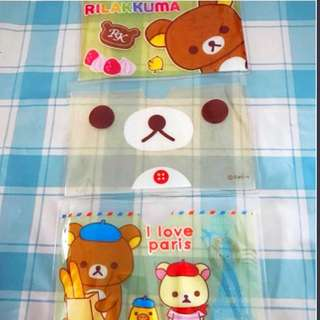 BN Rilakuma cute EZ link card holder