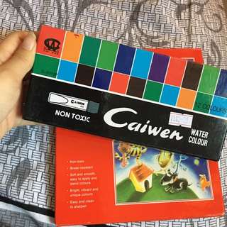 Cai Wen water color paint set