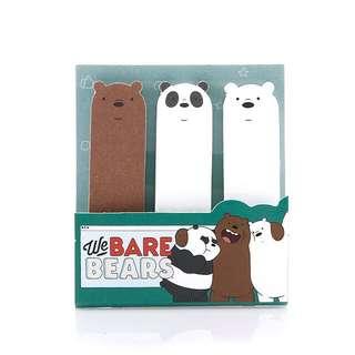 We Bare Bears Sticky Note