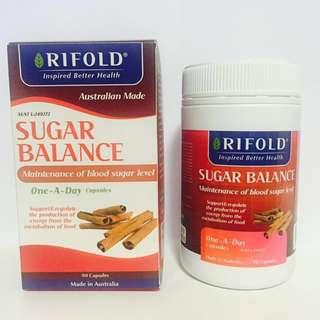 澳洲RIFOLD保健品 Sugar Blance 血糖平衡 90粒