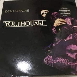 Dead or alive vinyl record