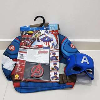 Disney Costume - Captain America 6T with Mask