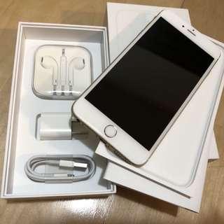 iPhone 6Plus 64g 金色 8.5成新 附6個手機殼