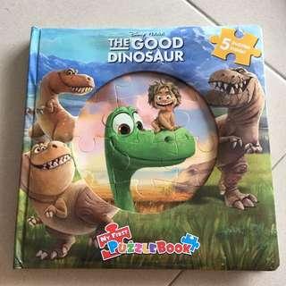 The good dinosaur jigsaw puzzle book