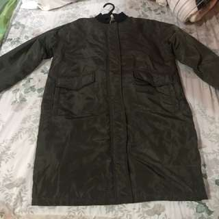 Bomber jacket trench coat from USA