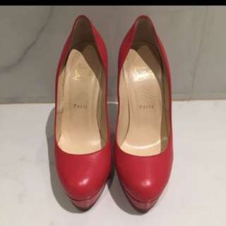 Authentic louboutin red 38