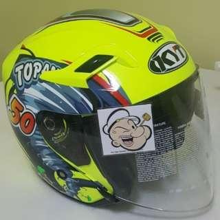2901 ***KYT with Sun Visor Helmet For Sale 😁😁Thanks To All My Buyer Support 🐇🐇 Yamaha, Honda, Suzuki