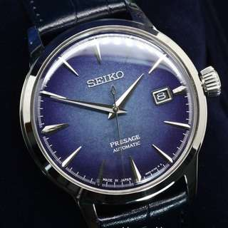 Seiko Presage Starlight Cocktail Automatic Limited Edition SRPC01J1 SRPC01J SRPC01 SARY085 Men's Dress Watch
