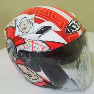 2901 ***KYT come with SunVisor Helmet For Sale 😁😁Thanks To All My Buyer Support 🐇🐇 Yamaha, Honda, Suzuki