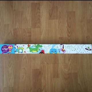 BN 🐉SMIGGLE🐉 Design & Color World Animals Posters (Children/ Kids Toy)