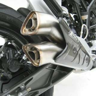 Zard exhaust ktm duke 200