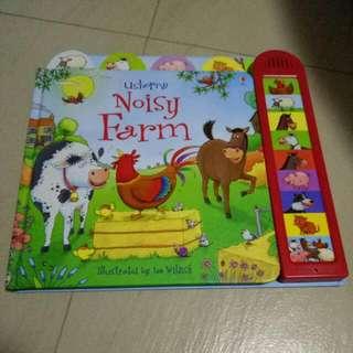 (PO) Usborne Noisy Farm