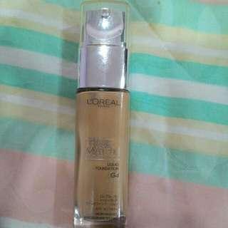 L'oreal True Match Liquid Foundation 【G4-Gold Beige】
