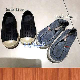 2 Pairs Boys Shoes
