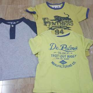 Preloved Branded Shirts 5 years old 5T