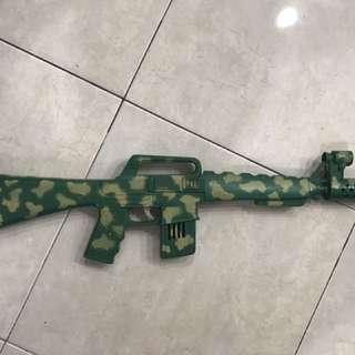 Vintage Machine Gun Toy