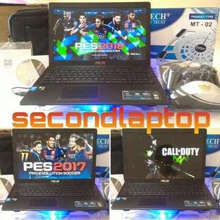 ASUS X550JX SPEK ROG VGA 8GB 128BIT NVIDIA GTX 950M RAM 12GB FULLSET LIKE NEW