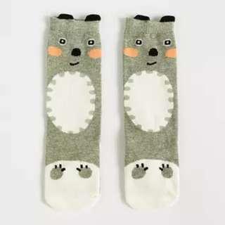 Cute Grey Socks for Kids
