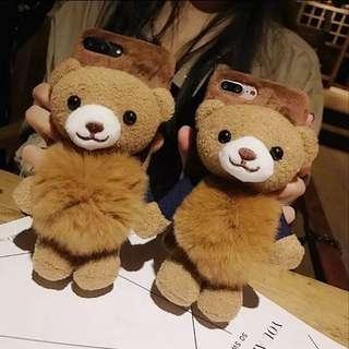 Bear bear Fur Phone Case