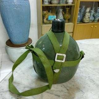 Metal Camping Bottle Vintage