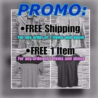 PROMO! Great discount awaits you!
