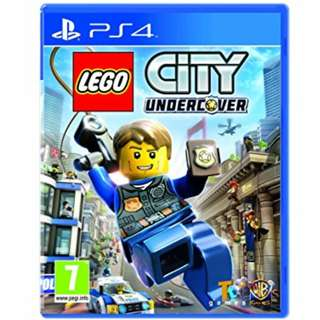 (Brand New Sealed) PS4 Game Lego City Undercover