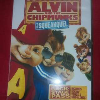 Alvin and the Chipmunk DVD