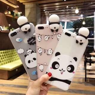 PANDA SQUISHY IPHONE CASD