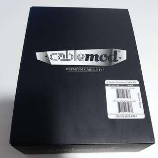 Cablemod C-series Premium Cable Kit. Suitable for Corsair AXi, HXi, RM PSUs [White]