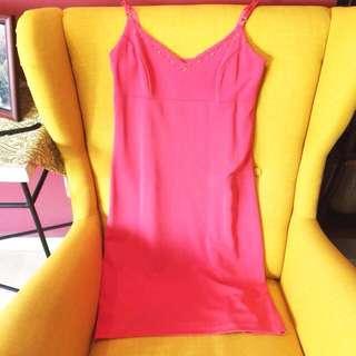 Fuschia Pink Nicole Miller dress