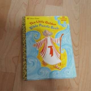The Little Golden Bible Puzzle Book