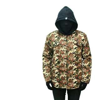 Joolie Greens Camouflage hoodie Jacket not thrasher supreme