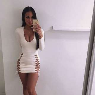 Ohpolly cut out dress