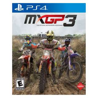 (Brand New Sealed) PS4 Game MXGP 3