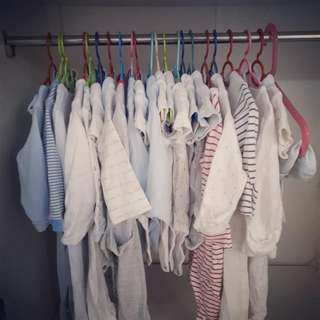 More than 20 pieces Mothercare and M&S baby clothes for 3-6months baby boy