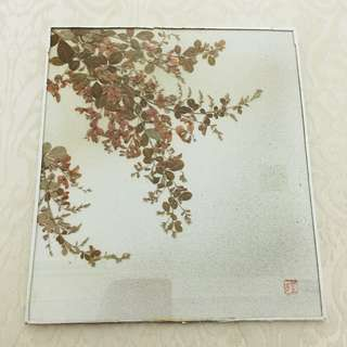 Artworks - Floral Shrub (Pressed Flowers)