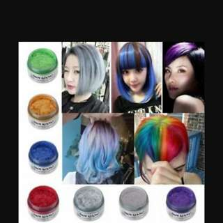 Unisex Colour hair wax