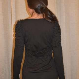 Clara Black Dress
