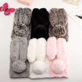 Case Cute Bunny Rabbit Plush Samsung S7