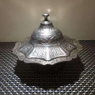 土耳其錫製糖皿
