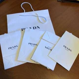 Prada 紙袋 提袋