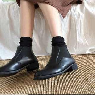 🚚 短靴加絨皮鞋