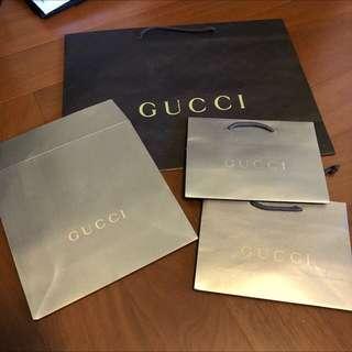 Gucci 紙袋 提袋