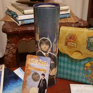 Harry Potter Coin Bank and Coin