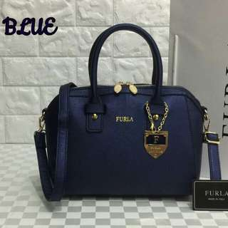 Furla Bag Dark Blue Color